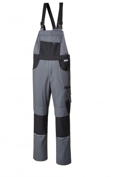 Pionier Resist 1 Latzhose grau/schwarz 9472