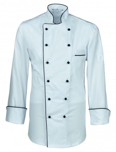 Greiff GM Cuisine Premium Kochjacke mit Paspelierung 5568