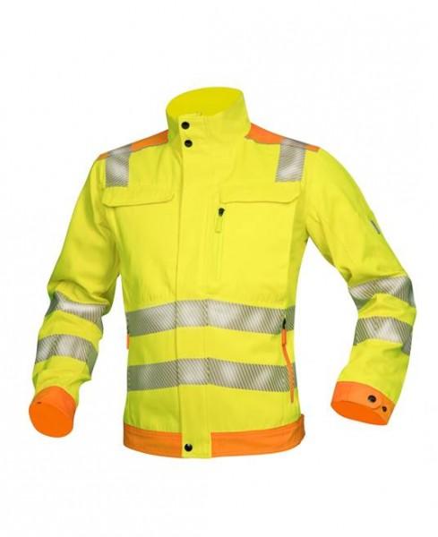 Ardon Signal Arbeitsjacke in den Farben Orange-Gelb, Gelb-Orange H 5900