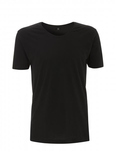 Continental® Fashion Herren/Unisex Rolled Scooped Neck T-Shirt N21