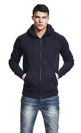 Continental® Herren Zip-through Hooded Sweatshirt N51Z
