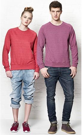 Continental® Salvage® Herren/Unisex Recycled Raglan Sweatshirt SA40