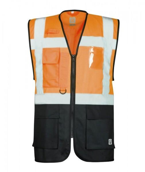 Ardon Manager-Weste SIGNAL H5915 orange-schwarz