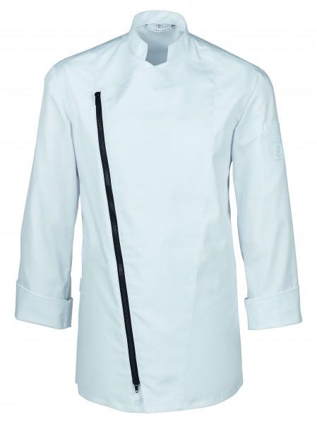 Greiff GM Cuisine Premium Kochjacke mit asymmetrischem Reißverschluss 5571