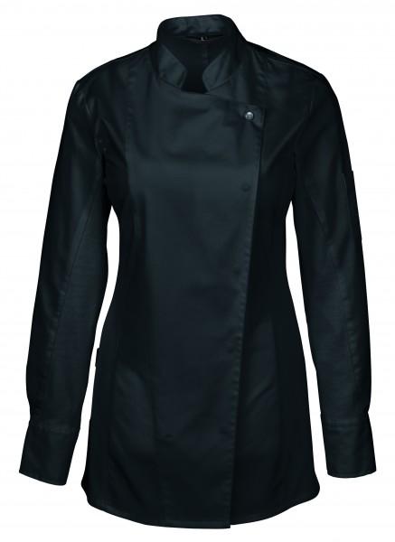 Greiff GM Cuisine Premium Damen-Kochjacke mit Jersey-Einsatz 5408