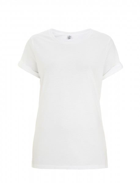 Continental® Earthpositiv™ Damen Organic Roll Up Sleeve T-Shirt EP12