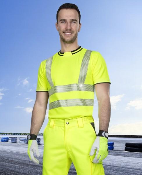 Ardon kurzärmeliges Warn - T - Shirt Signal H5906 Gelb