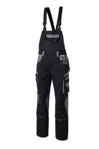 Pionier Tools Latzhose schwarz/grau 5430