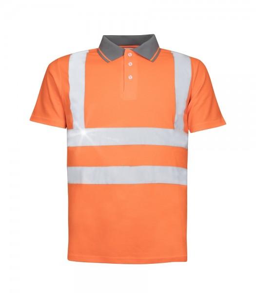 Ardon REF 202 Polohemd mit Refelexstreifen Orange H8924