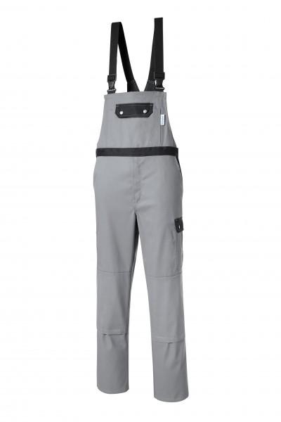 Pionier Top Comfort Stretch Latzhose grau/schwarz 2456