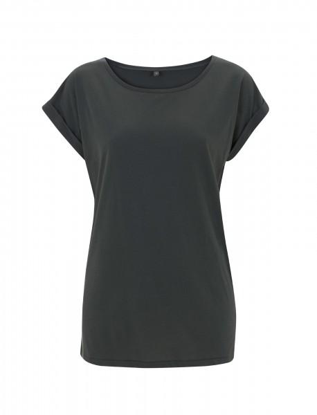 Continental® Fashion Damen Rolled Sleece Tunic T-Shirt N20