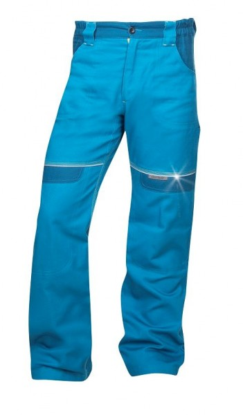 Ardon Cool Trend Arbeitshose - Bundhose in sportlichem Schnitt Mittelblau H8951