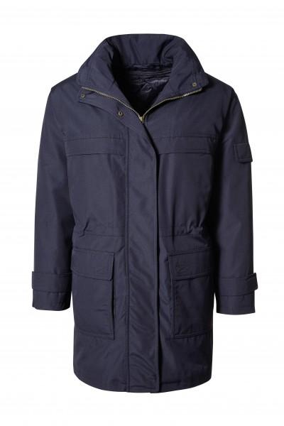 Pionier Outdoor-Jacke Damen Wetterschutz Parka marine 700