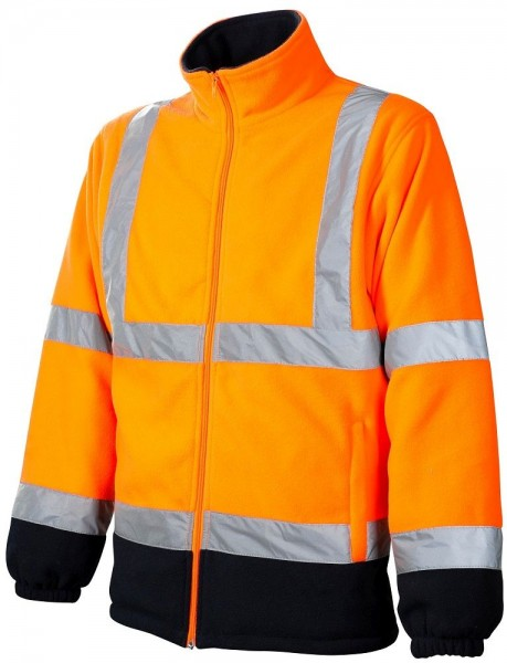 Ardon REF402 leichte Warn-Fleecejacke orange H8920