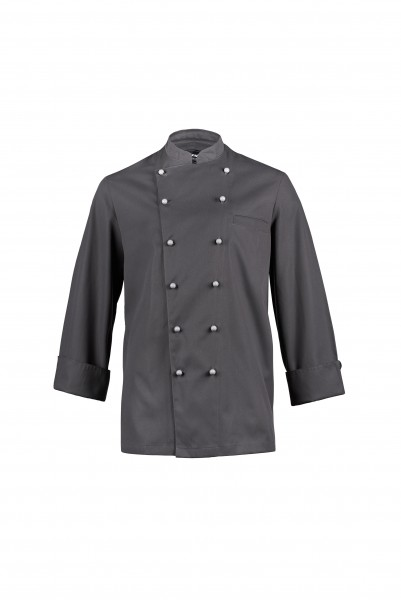 Hiza Fashion-Chefjacke 1/1 Arm grau 524401