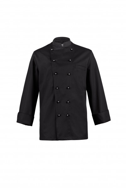 Hiza Fashion-Chefjacke 1/1 Arm schwarz 524401