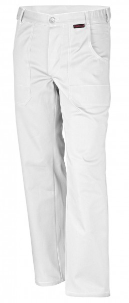 Qualitex Bundhose favorit BW 320 weiß mit Knietaschen