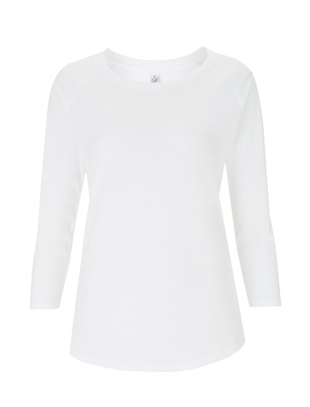 Continental® Earthpositiv™ Damen Organic 3/4 Sleeve T-Shirt EP47