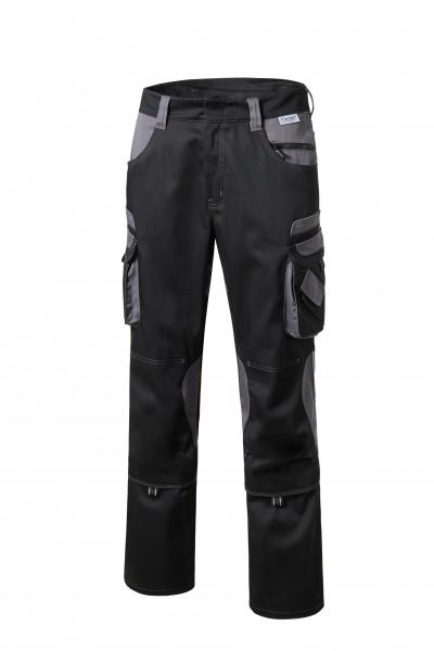 Pionier Tools Bundhose schwarz/grau 5340