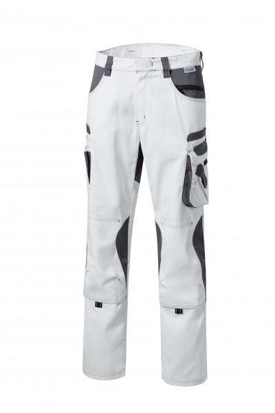 Pionier Tools Damen Bundhose weiß/grau 95744