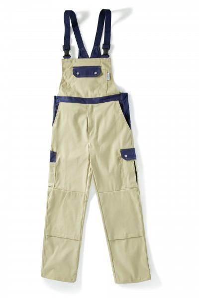 Pionier Top Comfort Stretch Latzhose khaki/marine 2427