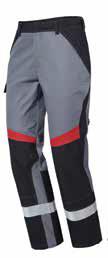 Pionier Performer heavy Bundhose schwarz/grau 13071