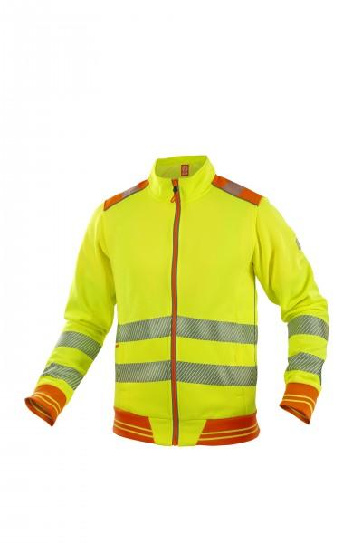 Ardon Signal hochsichtbares Sweatshirt Gelb H5929