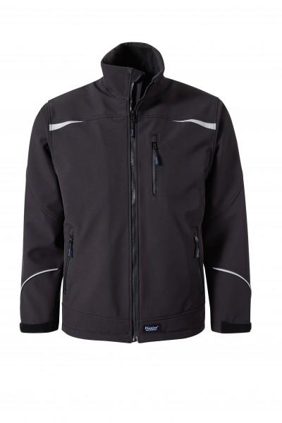Pionier Softshell-Jacke schwarz 5870