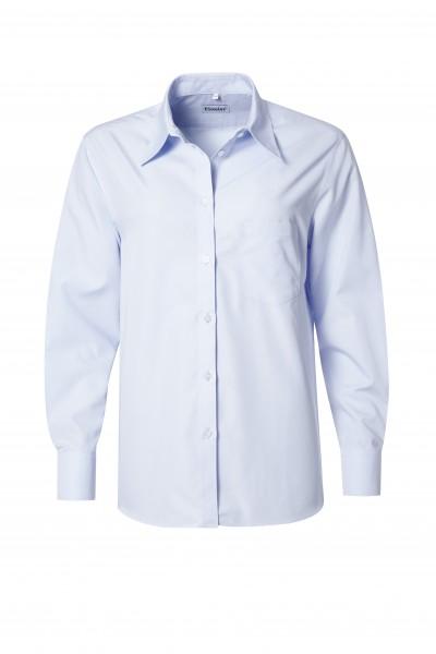 Pionier Business Premium Damen Bluse 1/1 Arm hellblau 6786