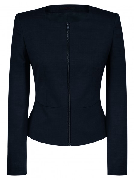 Greiff CW Modern with 37.5 Damen Slim Fit Kurz-Blazer 1427