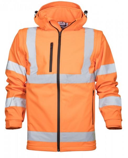 Ardon REF 501 Softshelljacke mit 3 Taschen Orange H8921