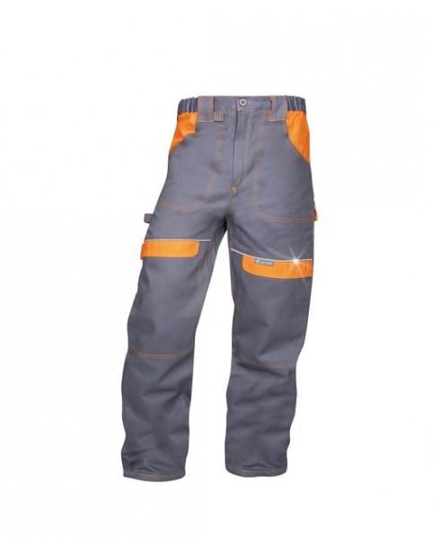 Ardon Cool Trend Arbeitshose - Bundhose in sportlichem Schnitt Grau-orange H8308