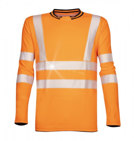 Ardon Signal langärmeliges Warn - Shirt orange H5927
