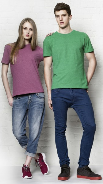 Continental® Salvage® Herren/Unisex Classic Fit Recycled T-Shirt SA01