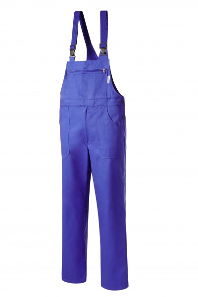 Pionier Classic Diagonalköper Latzhose kornblau 190