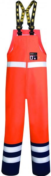 Ardon AQUA 501 Wasserdichte Regen- Warnschutz-Latzhose Orange H1187