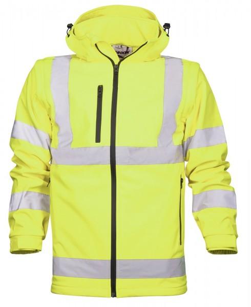 Ardon REF 501 Softshelljacke · 3 Taschen Gelb H8905