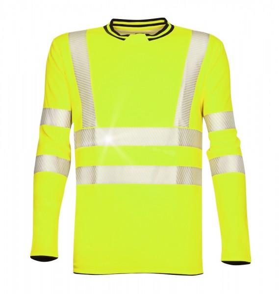 Ardon Signal langärmeliges Warn - Shirt Gelb H5926