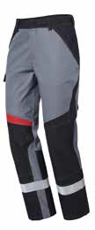 Pionier Performer light Bundhose schwarz/grau 13061