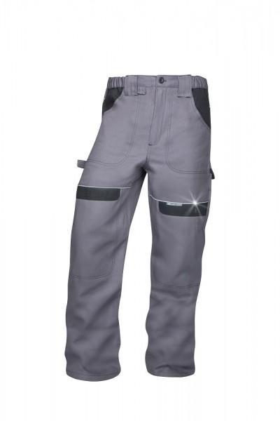 Ardon Cool Trend Arbeitshose - Bundhose in sportlichem Schnitt Grau-Schwarz H8304