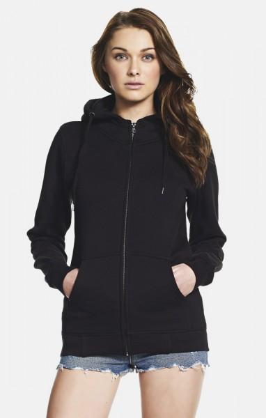 Continental® Damen High-Neck Zip-through Hooded Sweatshirt N54Z