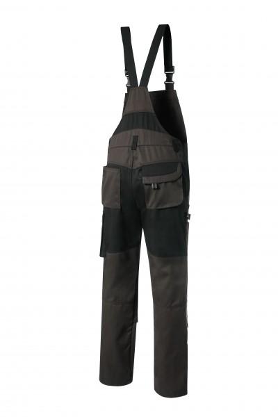Pionier Tools Latzhose braun/schwarz 5433