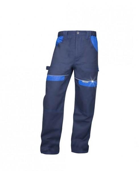 Ardon Cool Trend Arbeitshose - Bundhose in sportlichem Schnitt Dunkelblau - Hellblau H8320