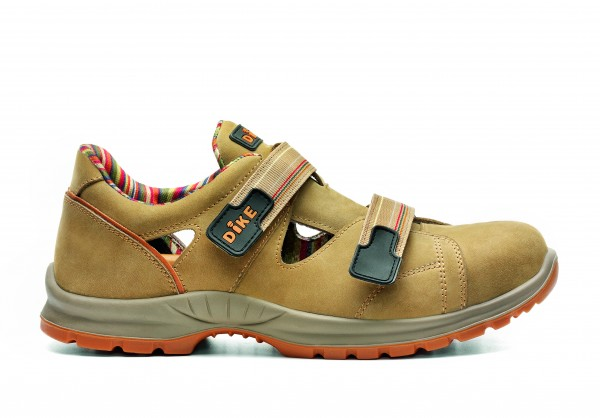 Dike Agility Ace Sandale S1P SRC Camel 23751