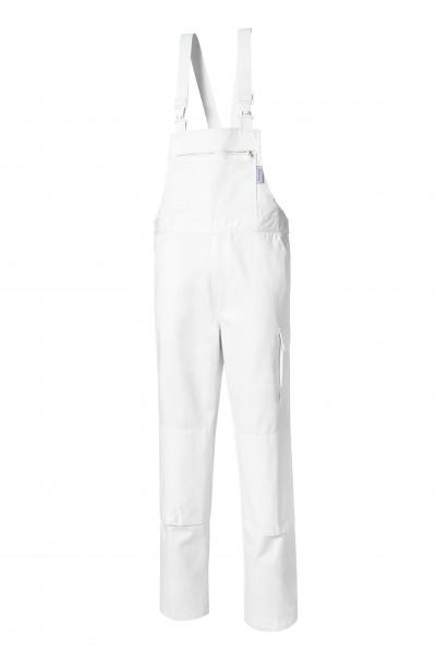 Pionier Cotton Pure Latzhose weiß 9494